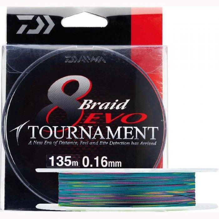 300m braided line Daiwa Tournament 8 Braid Evo Dark Green