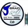 DAIWA J BRAID x4 MULTICOLORE 1500M : modèle:DAIWA J BRAID X4, Résistance (kg):12.4, Diamètre (mm):21/100, Longueur (m):1500