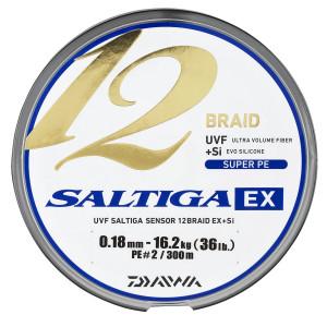 """.020/"""" .50 mm-SAB-B100LB500M Daiwa Saltiga tressé multicolore ligne 100 Lb 550 Yd environ 502.92 m environ 45.36 kg"""